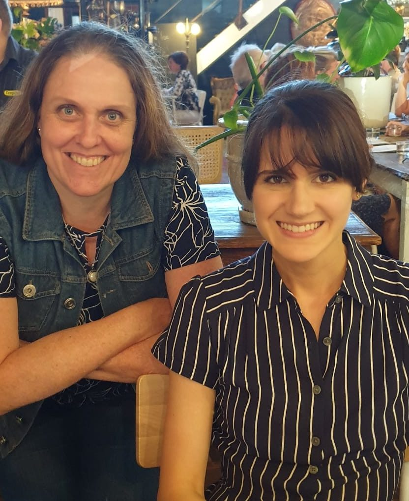 Author Meg Chronis and literary agent Whitney Ross